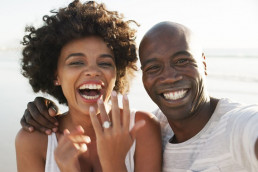 Newly Engaged Couple - Your Destination Wedding Entertainment Experience