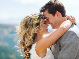 First Look for a Bride and Groom
