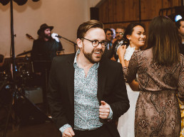 Wedding Guests Dancing - Red Aspen Photography